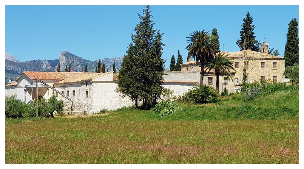Nuestra Casería de los Naranjos se encuentra en Sierra Mágina (Jaén)