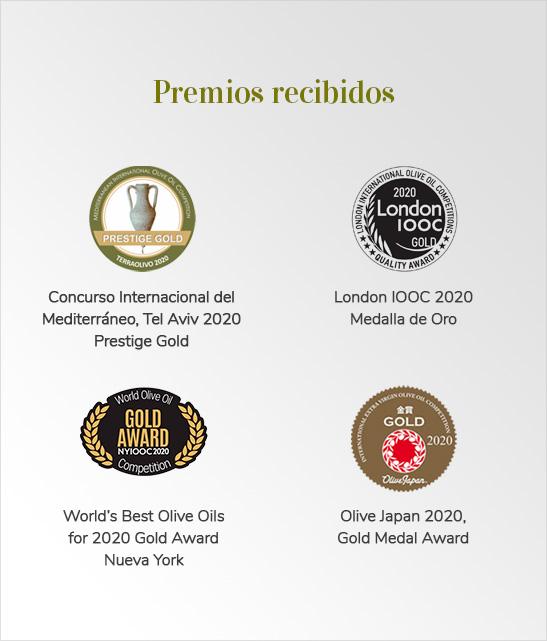 Premios y reconocimientos Picual Reserva Familiars