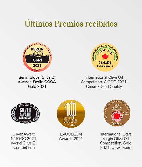 ultimos premios aceite picual reserva